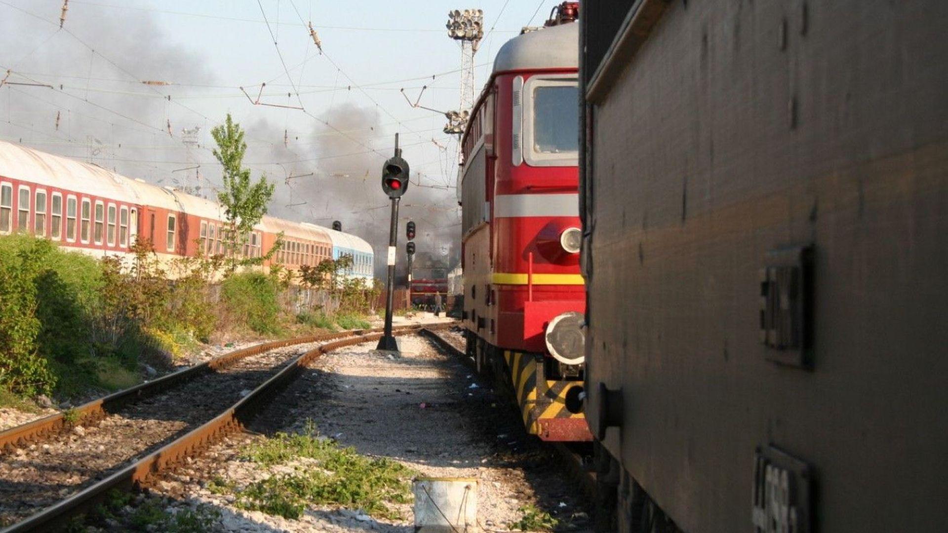 Гасиха локомотив на видинската гара