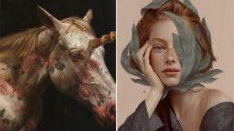 Чувствени женски портрети на границата на нежността и авангарда