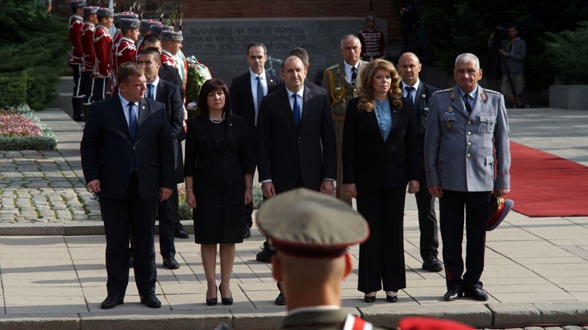Тържествен водосвет на знамената на Българската армия