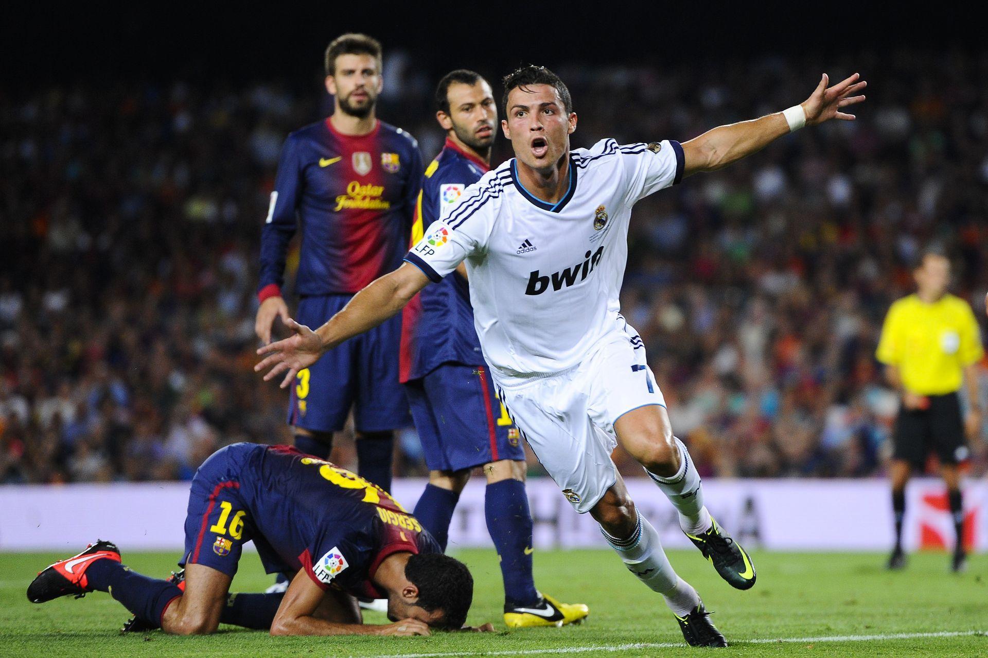 "Роналдо има 17 гола срещу ""Барса"". Снимка: Getty Images"
