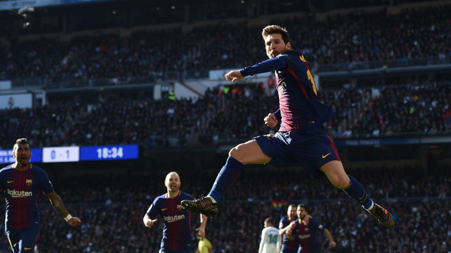 Преди Ел Класико: Барса е в нечувана серия - 10 победи за 10 г. в Мадрид