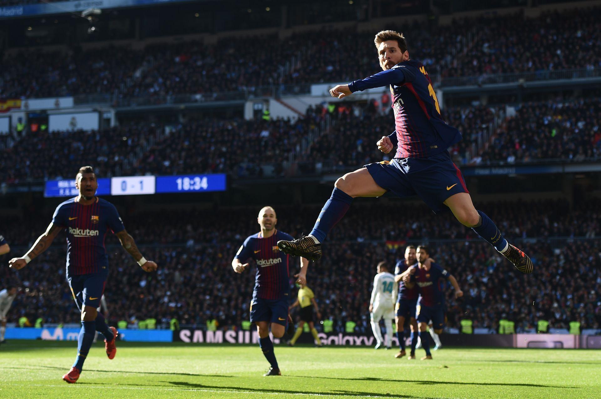 """Меси е кошмарът на """"Реал"""" и рекордьор по голове в историята на Ел Класико. Снимка: Getty Images"""