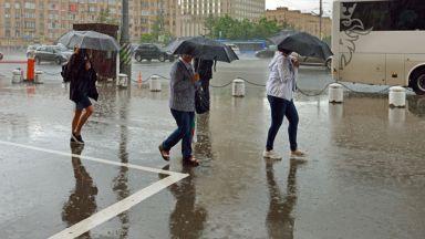 Краткотрайни валежи до края на седмицата