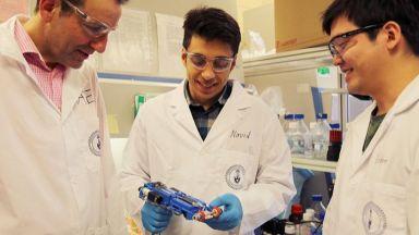 Печатат хрущял за нос на 3D биопринтер