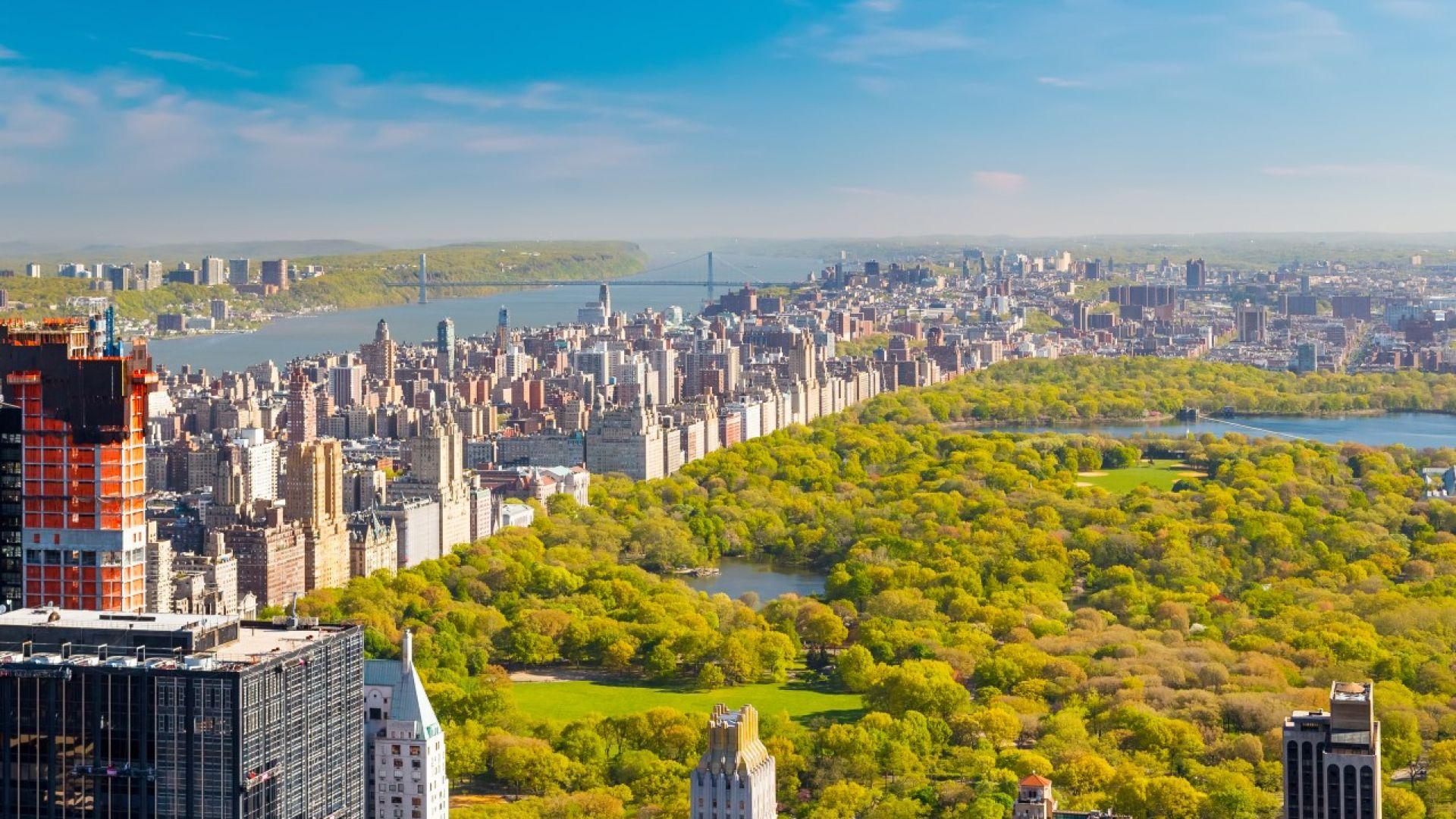 Екостандарт: 99% от живеещите в Ню Йорк са на 10 минути от парк