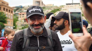 Никол Пашинян е избран за премиер на Армения