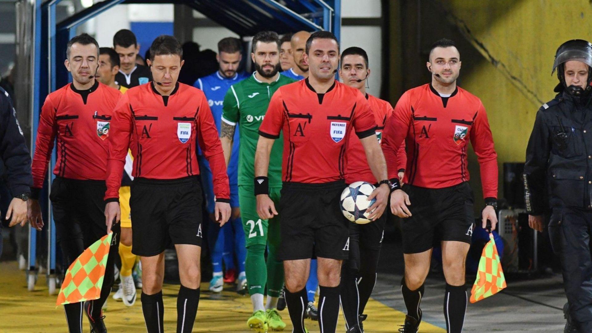 Няма наказание за рефер №1 след мача Левски - Ботев