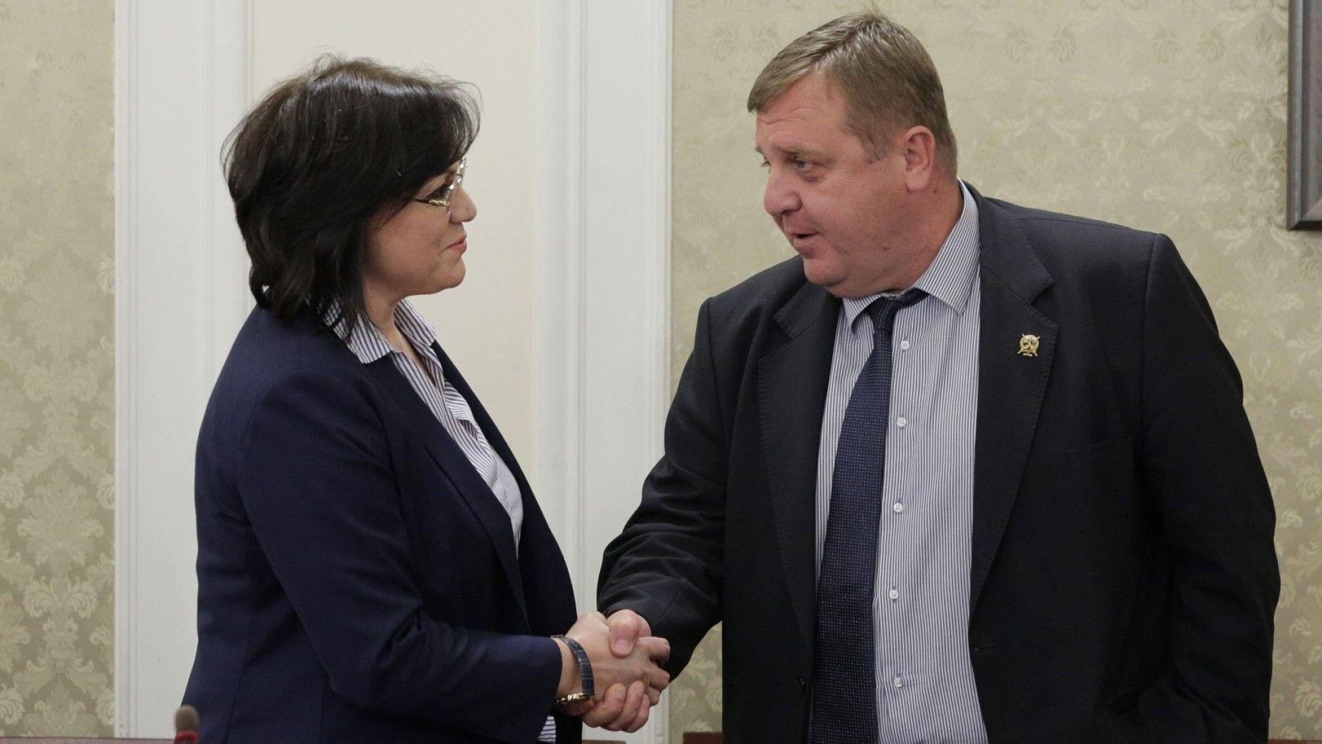Каракачанов: Скърцат колелата на каручката в парламента