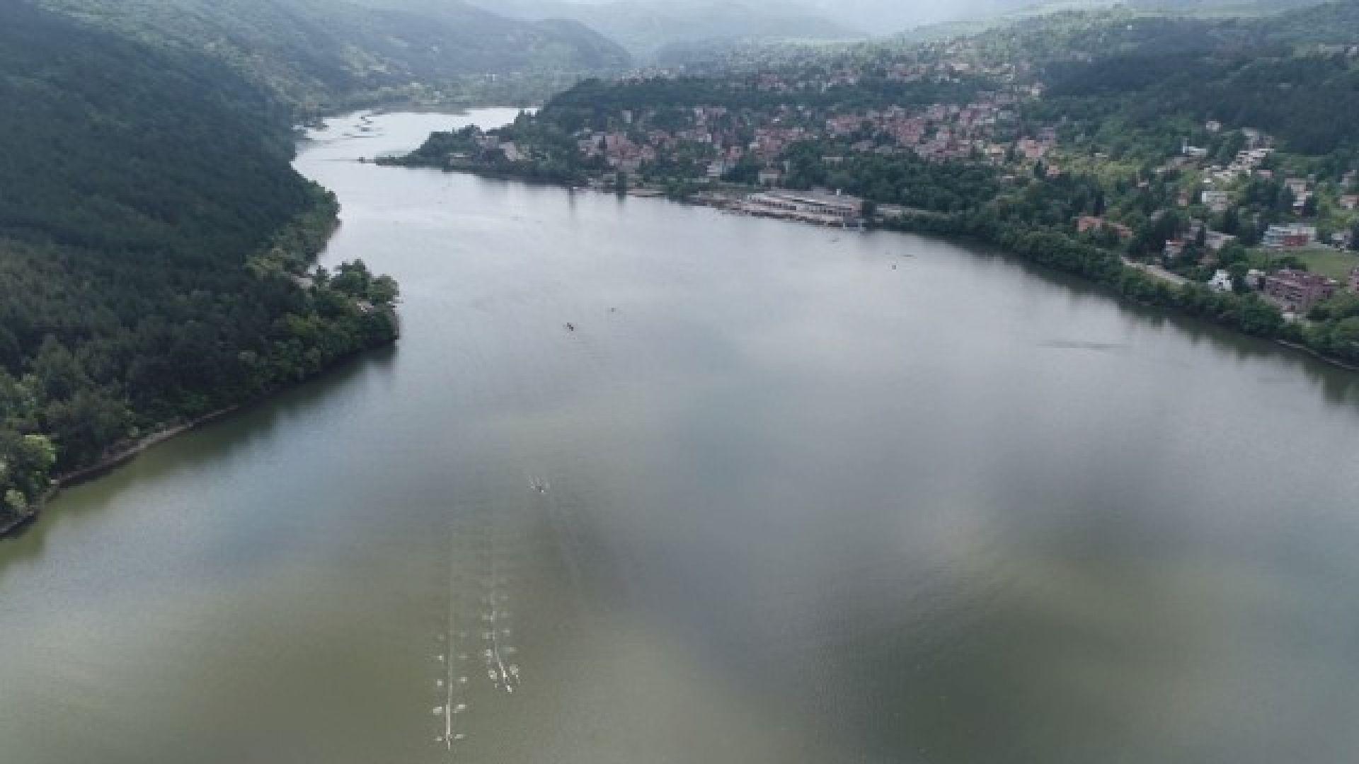 Панчаревското езеро изчезва