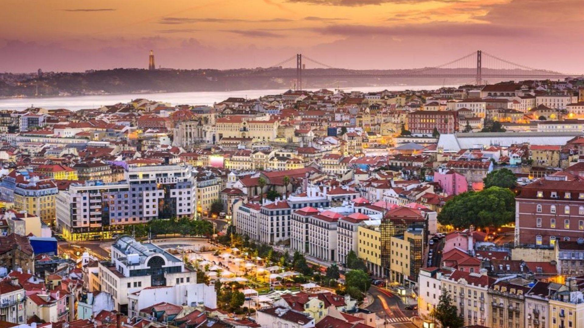 Парти, мезета и палми в Лисабон (снимки)