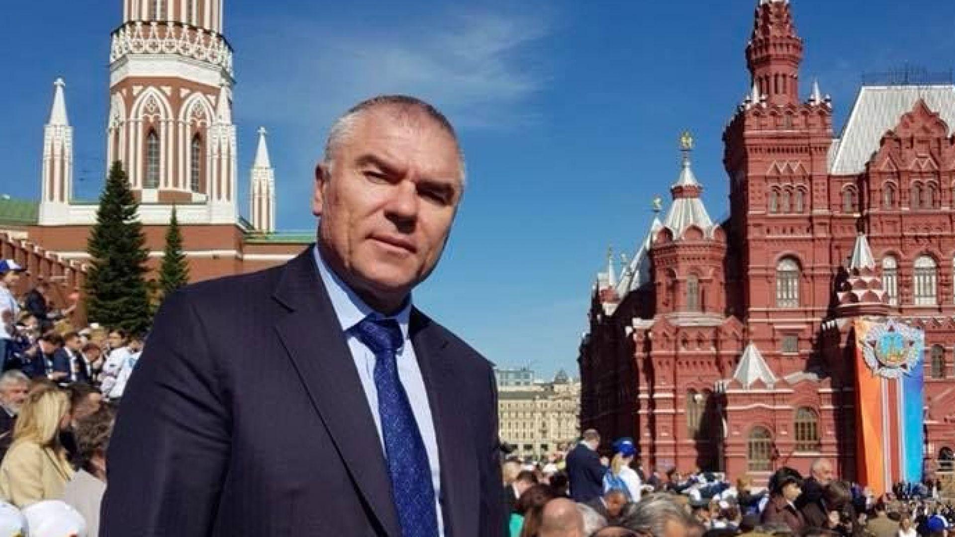 Марешки отиде на парада на Червения площад
