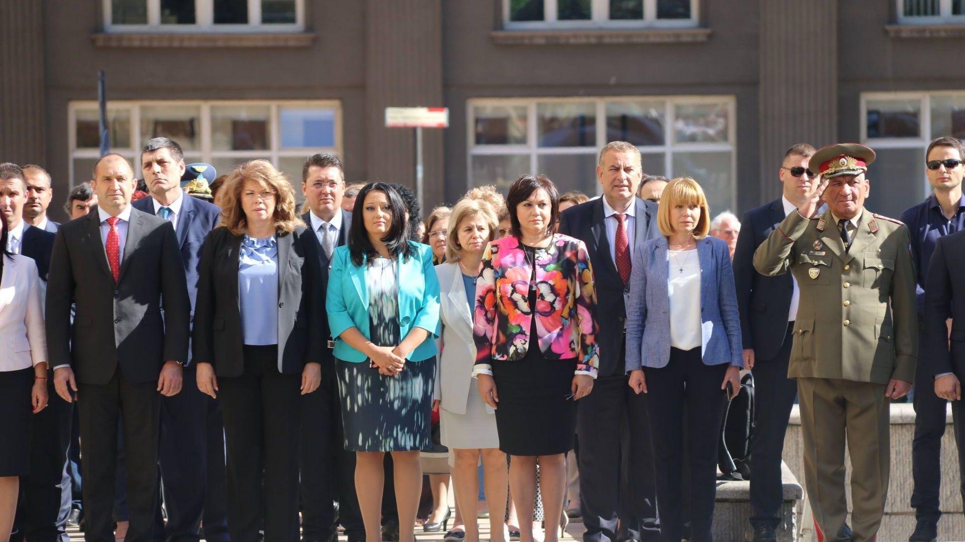 Корнелия Нинова участва в честванията по случай 9 май