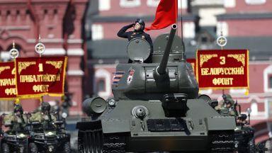 Путин на военния парад:  Русия е готова за мирен диалог