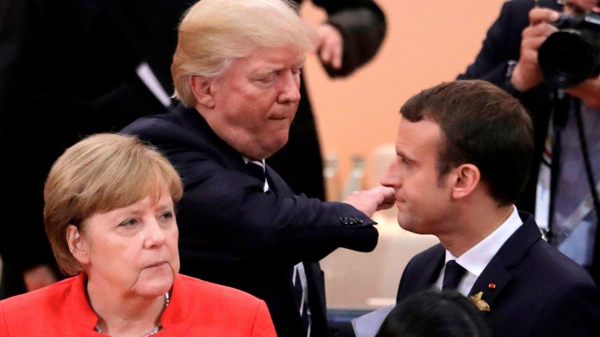 Макрон ще спасява френските компании от ситуацията с Иран