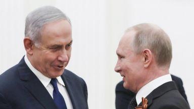 Путин към Нетаняху: Отхвърляме вашата версия за свалянето на руския самолет
