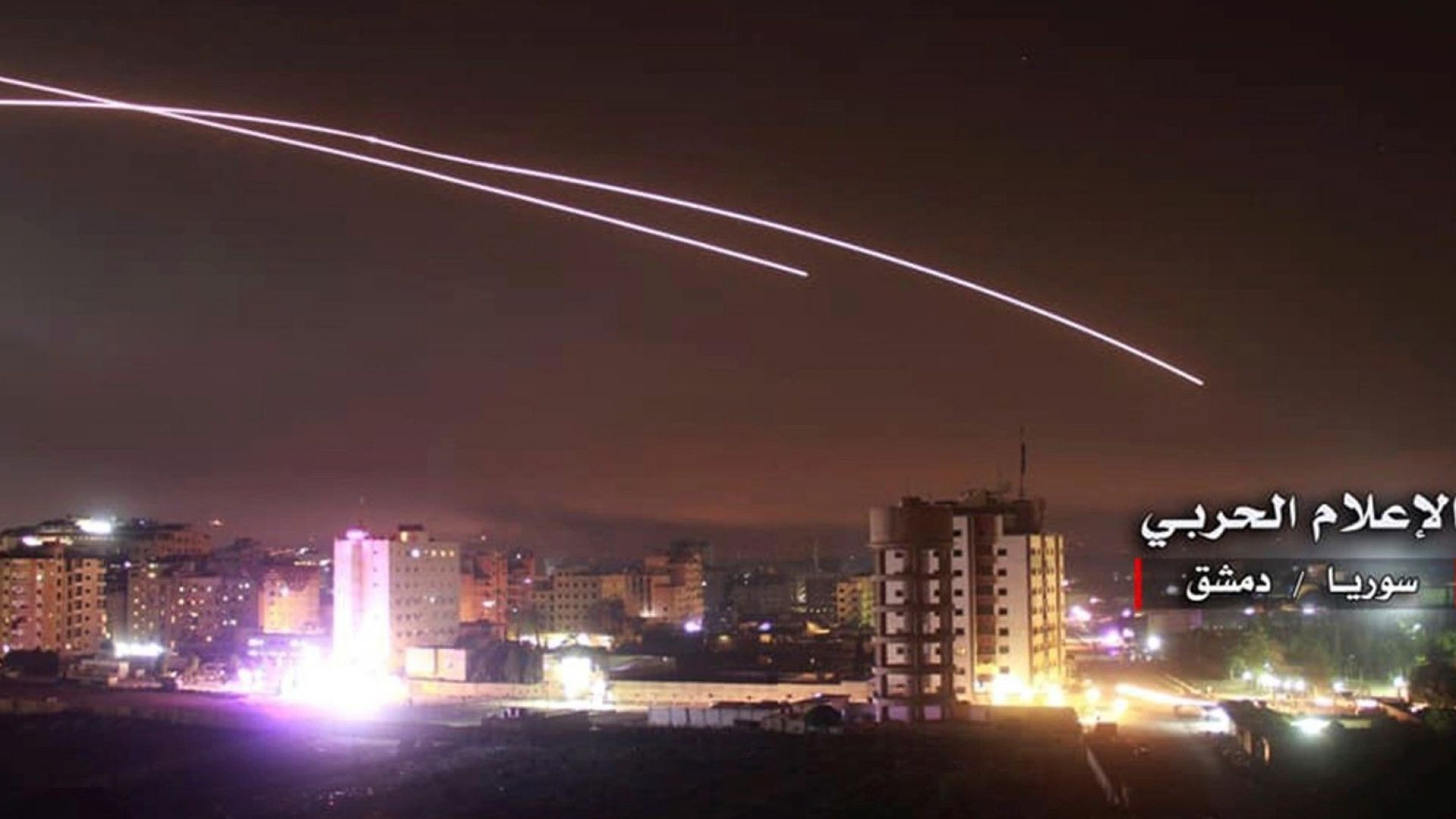 Две израелски ракети са паднали близо до летището на Дамаск