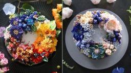 Цветя от маслен крем, които превръщат тортите в икебана
