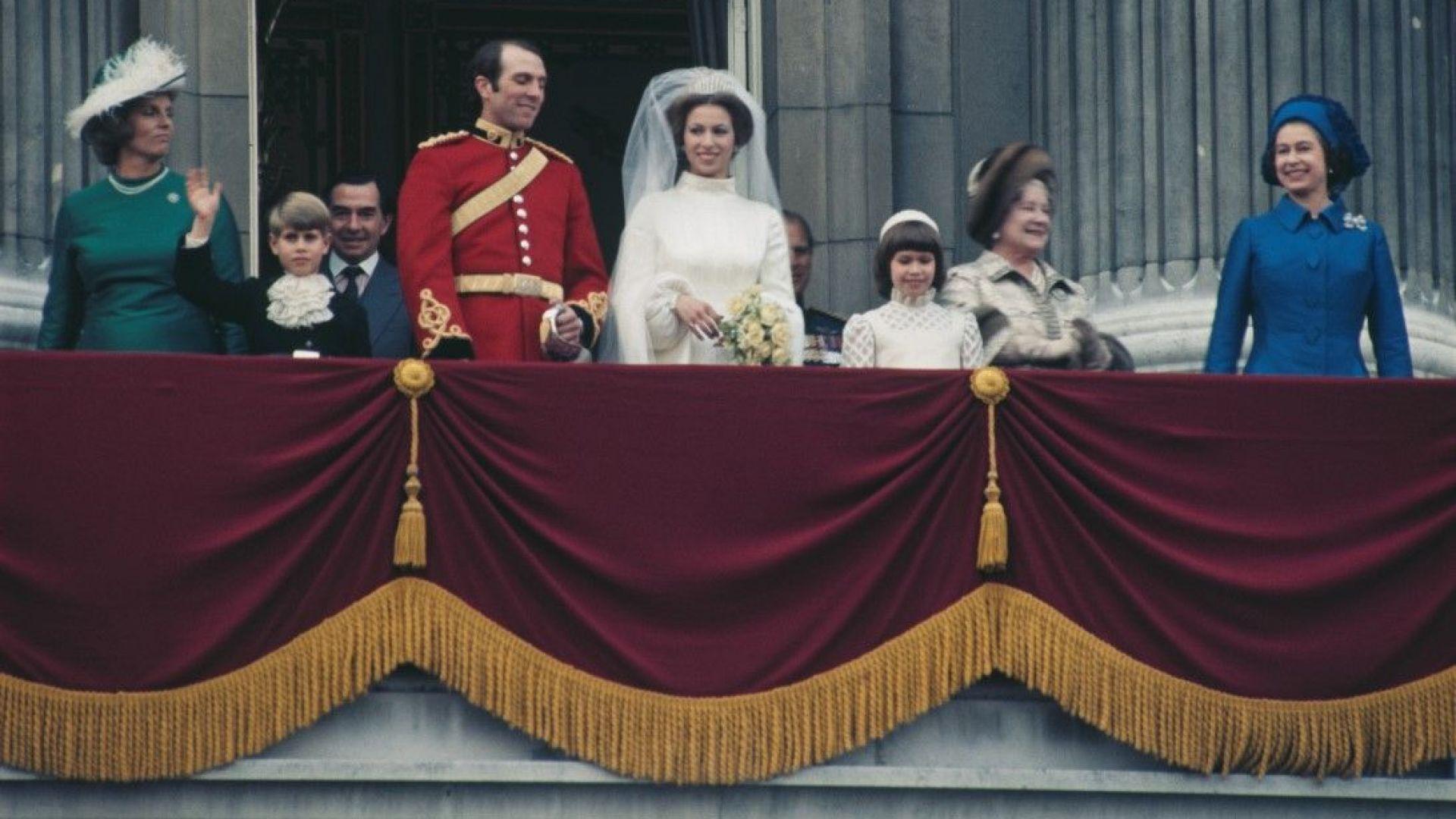 Сватбата на принцеса Ан и Марк Филипс