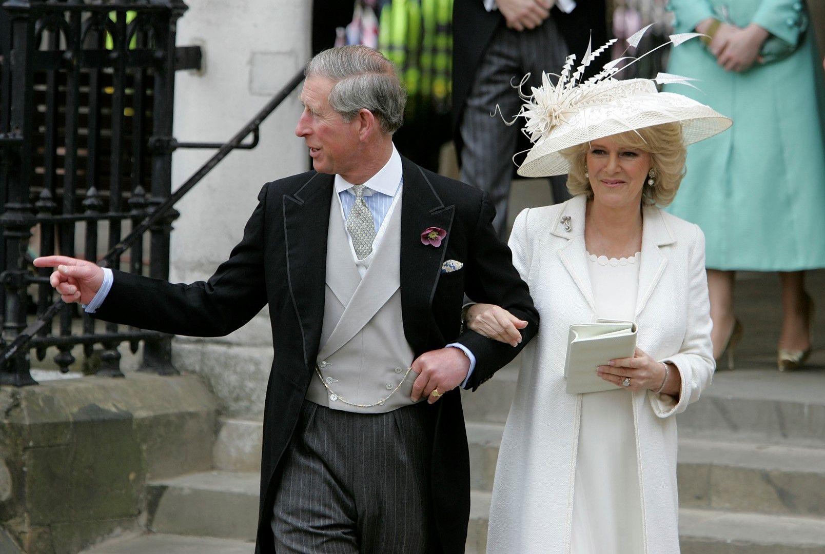 Принц Чарлз и Камила на сватбата