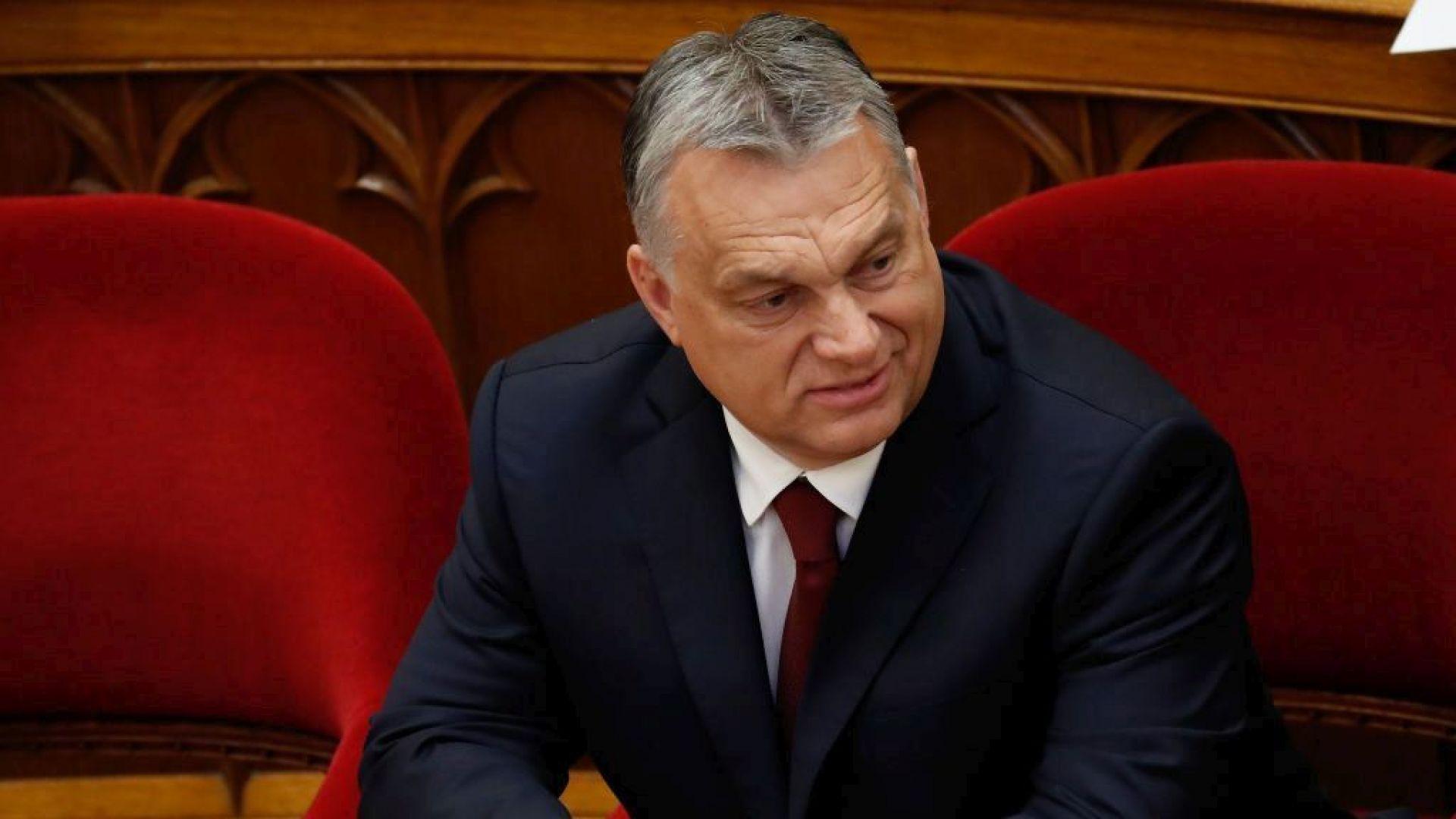 Скандал между Орбан и медиен шеф прекръсти вестник в Унгария