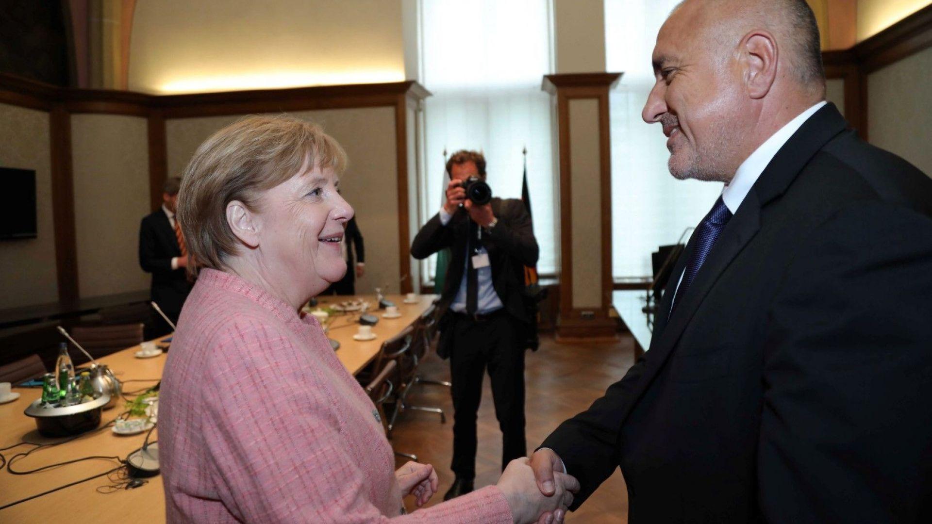 Борисов и Меркел:  Западните Балкани очакват от нас конкретни действия и резултати