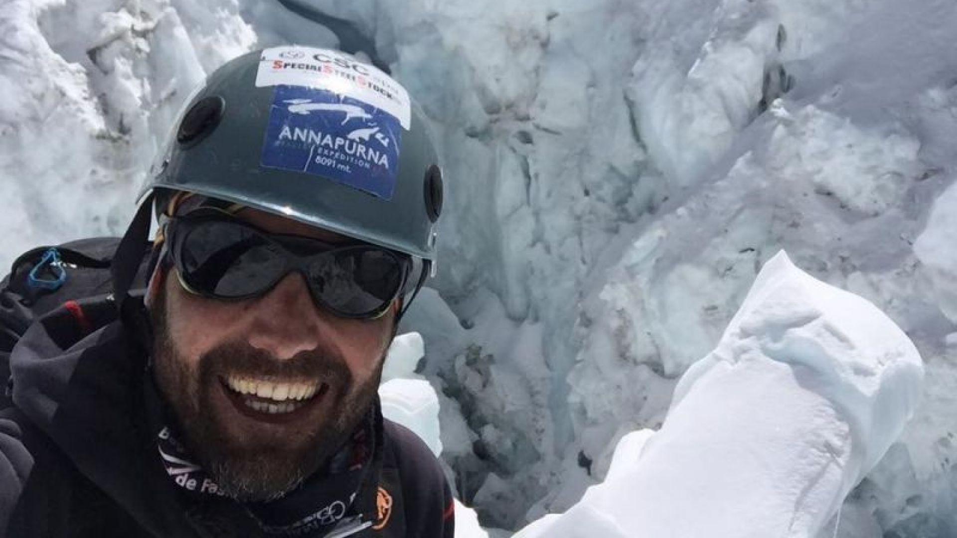 Никой не търси Боян Петров, твърди алпинист от базовия лагер под Шиша Пангма