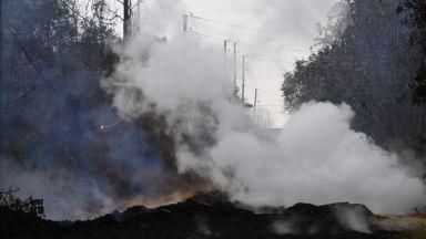 Вулканът Килауеа застрашава електроцентрала (видео)