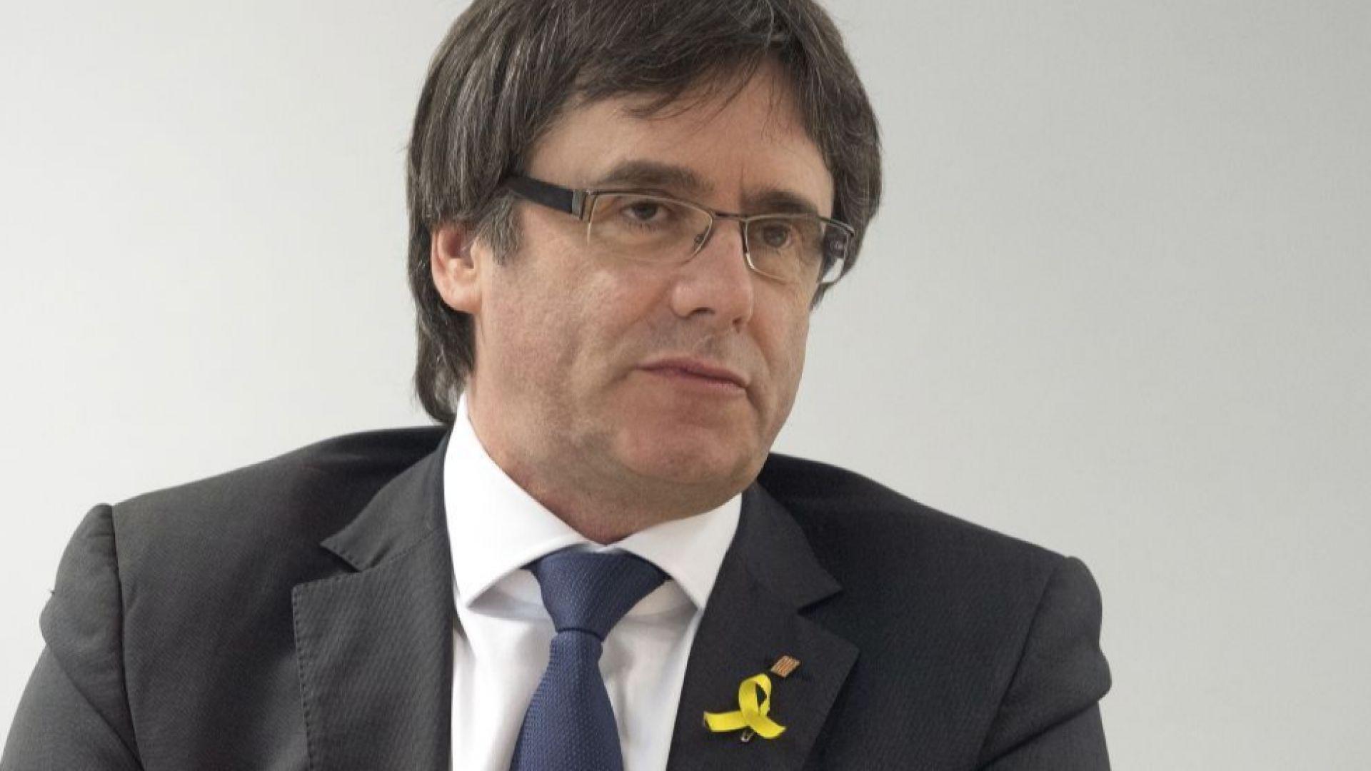 Пучдемон отказа да бъде лидер на Каталуния