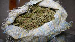 Хванаха 1,1 тона марихуана на път към България