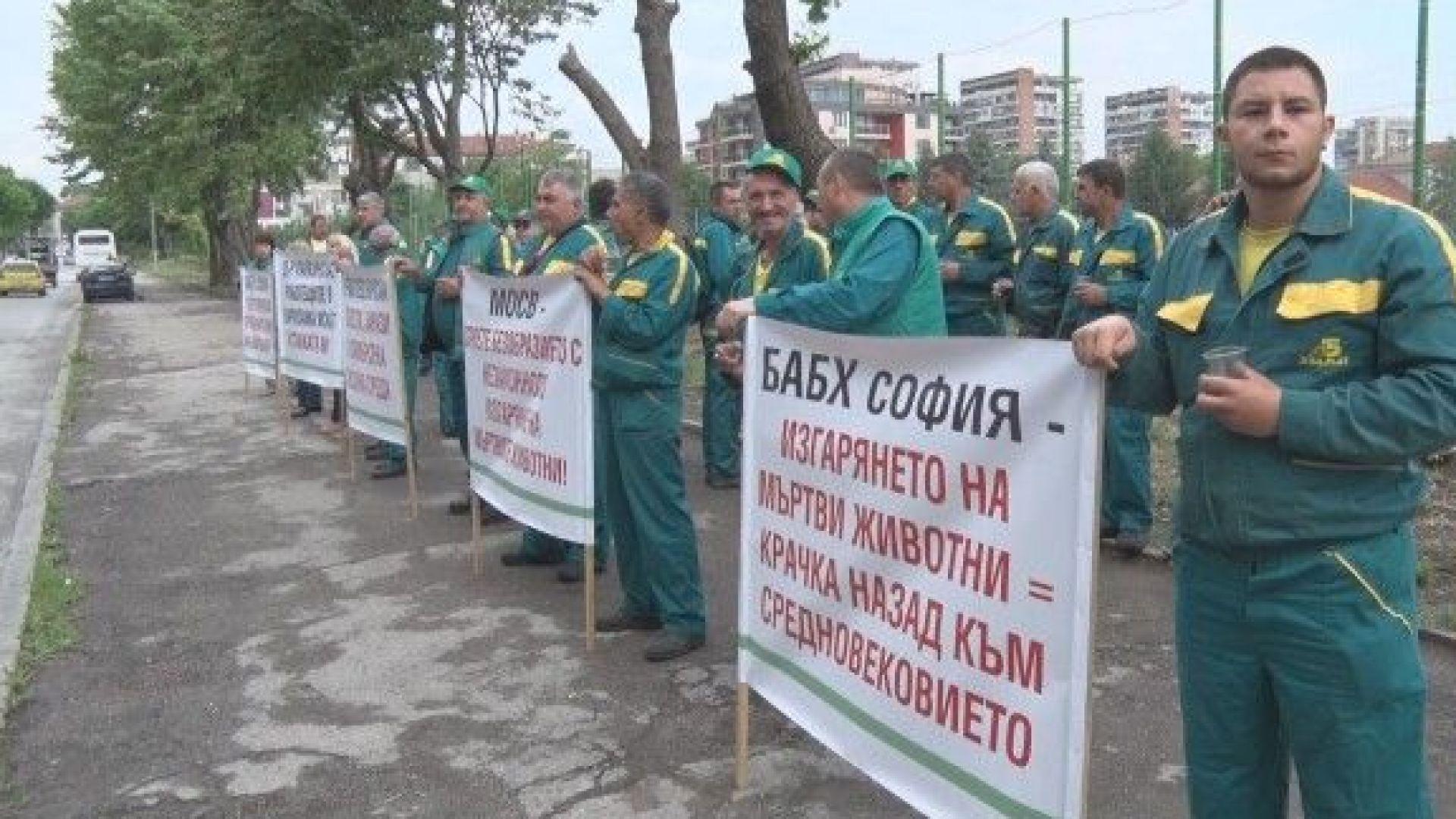 Затвориха екарисажа в Шумен, служителите на протест