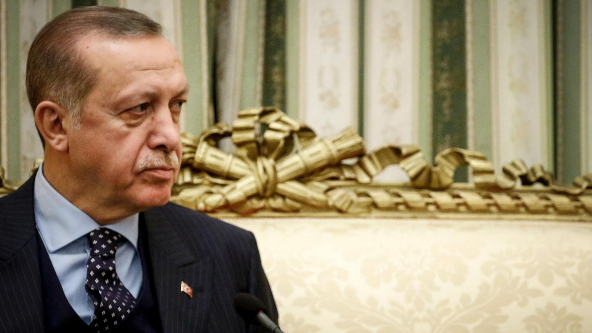 Телефонна дипломация на Ердоган за Газа