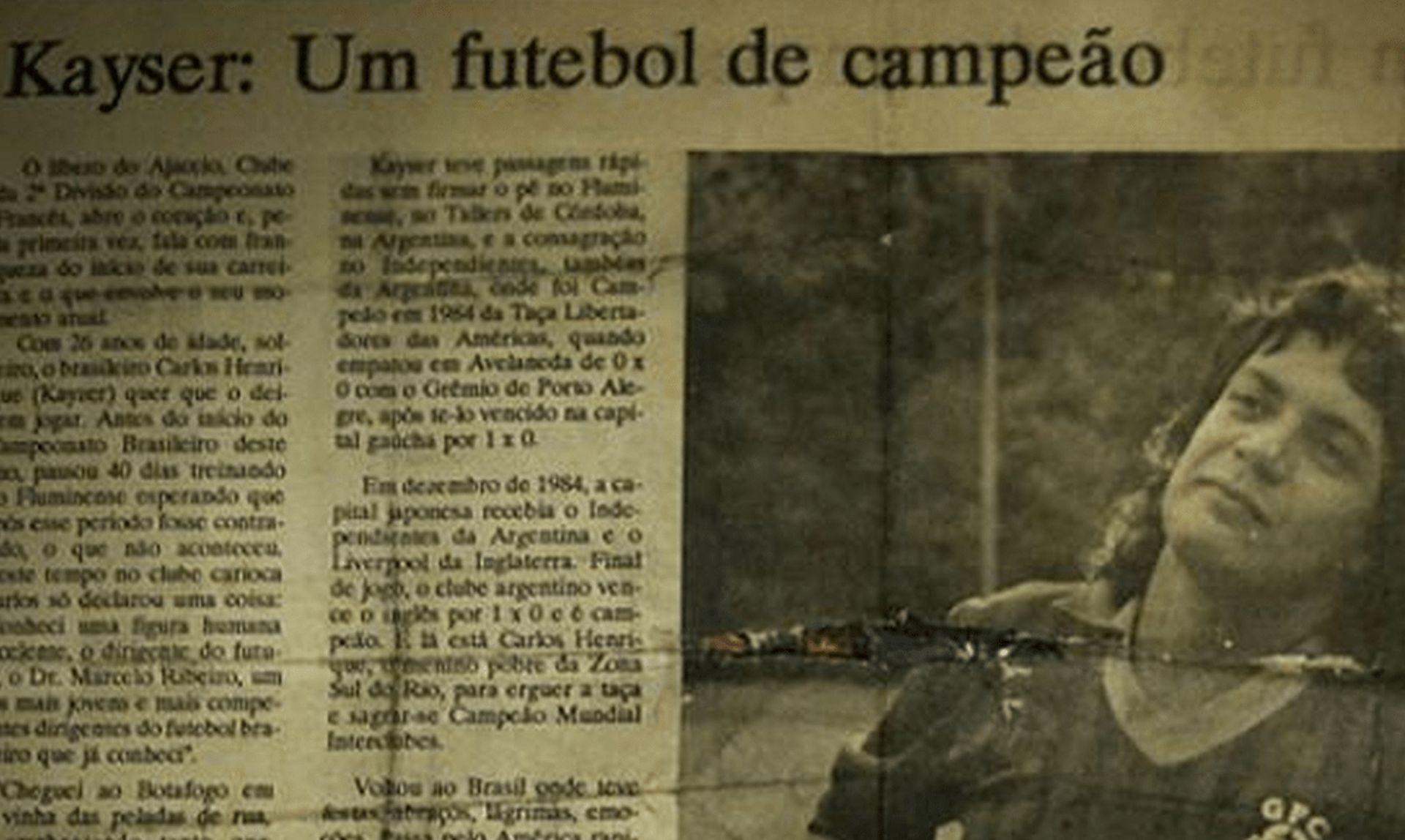 """Статия в Бразилия след завръщането му от """"Аячо"""""""