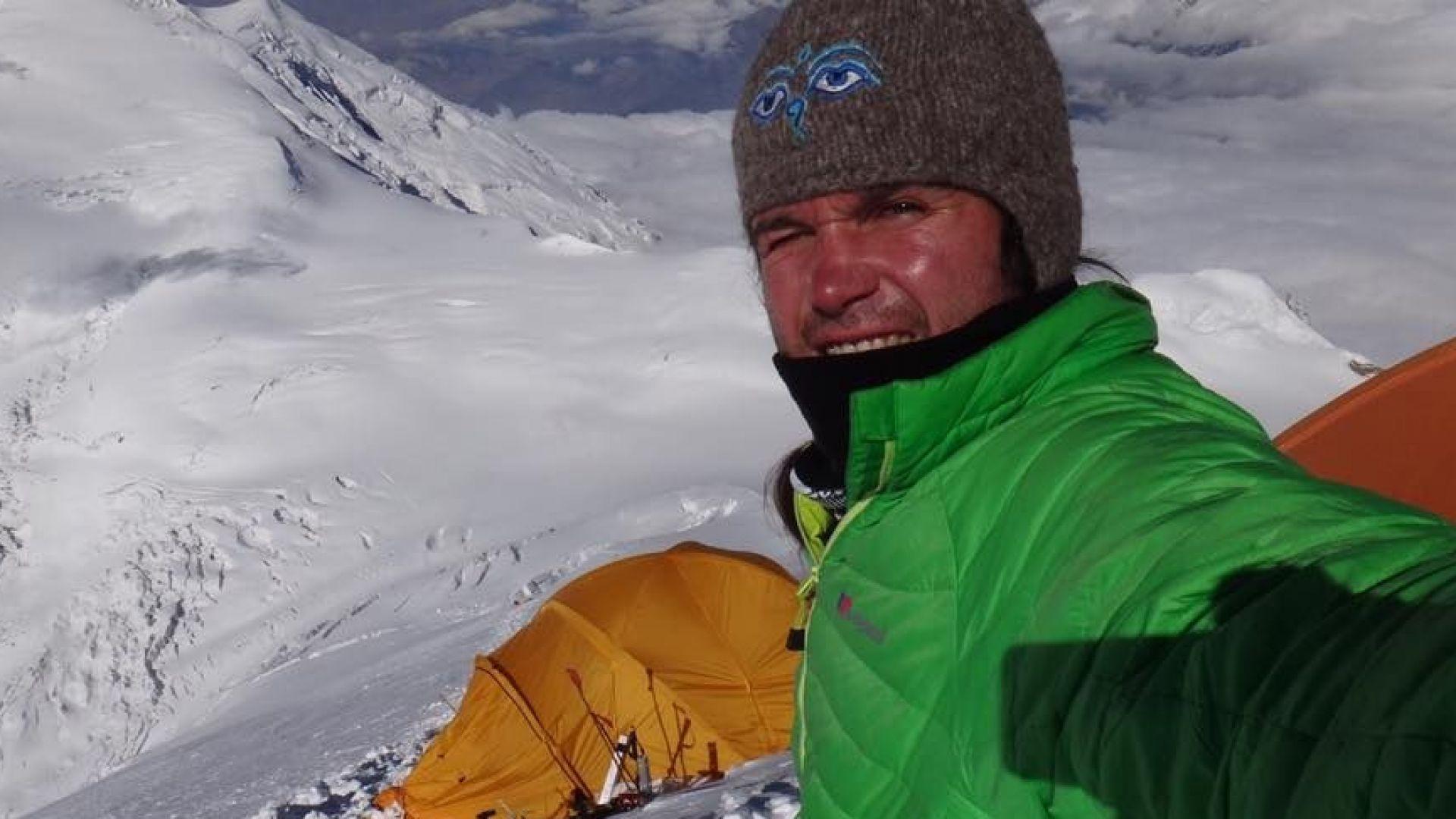 Алпинистът Атанас Скатов покори осемхилядника Чо Ойю