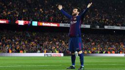"""Лео Меси нахлузва """"Златната обувка"""" за рекорден пети път"""