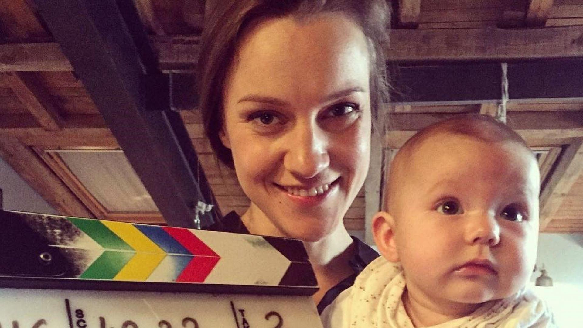 Дария Симеонова oчаква първото си дете
