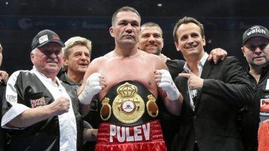 Официално: Кубрат Пулев няма да се бие срещу Дилиън Уайт