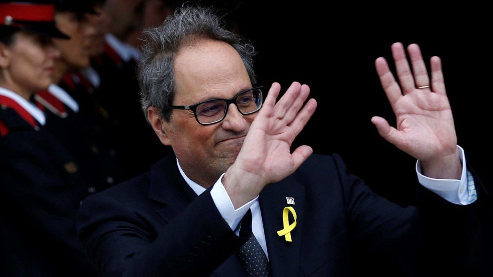 Каталунските депутати избраха отявлен сепаратист за нов лидер
