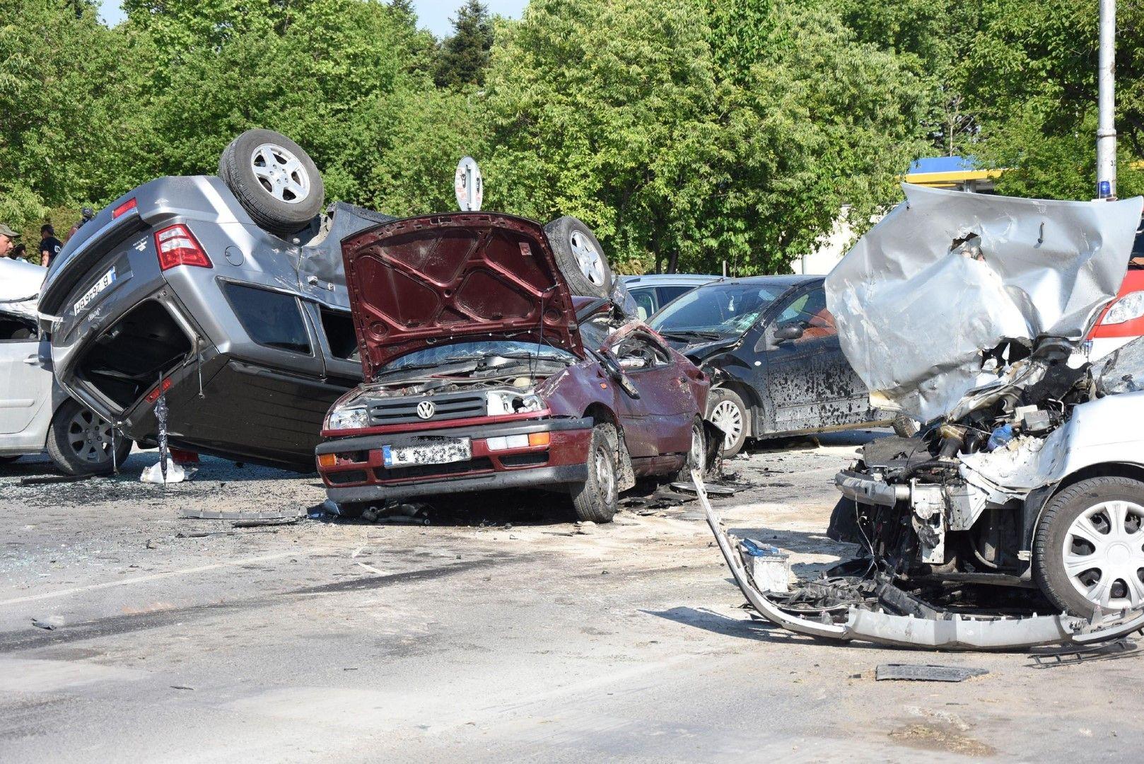 Голяма катастрофа до Цирковата площадка във Варна