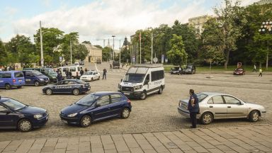 Мобилизираха полицаи от цялата страна за срещата на върха в София (снимки)