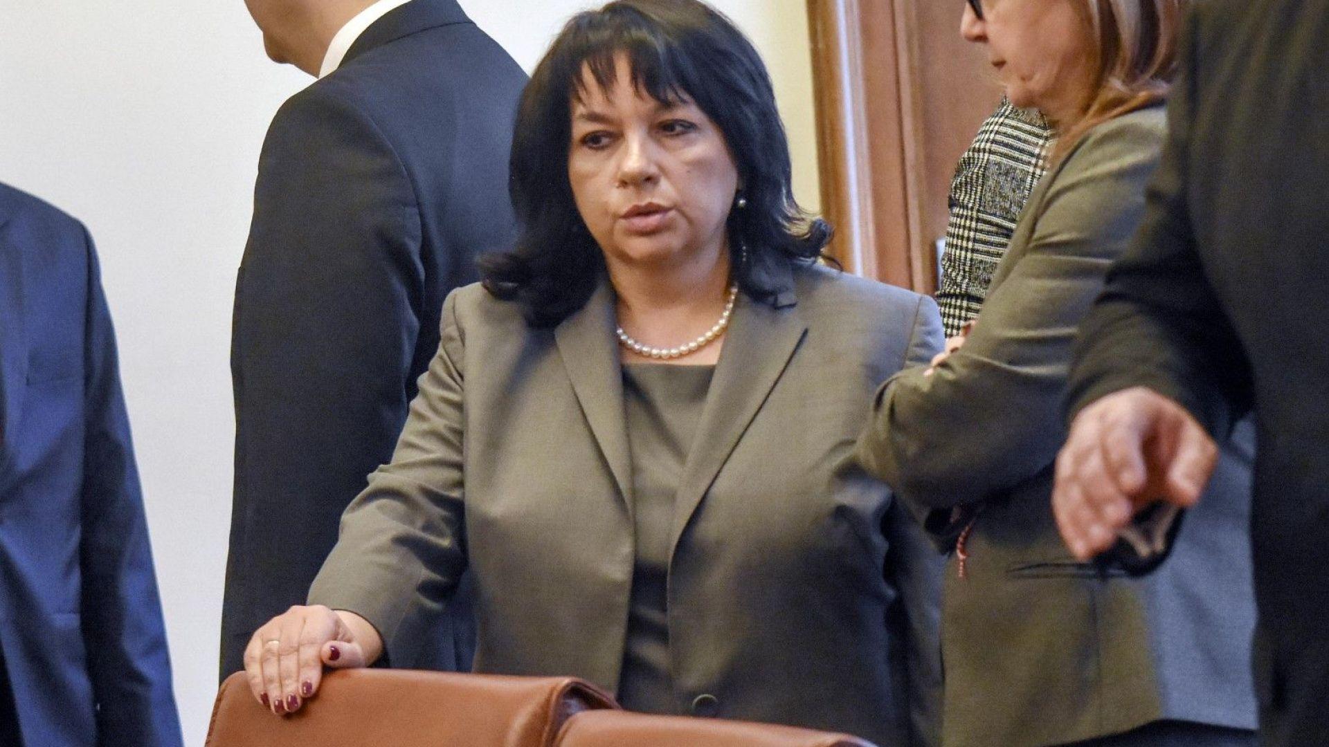 """Теменужка Петкова: Проектът АЕЦ """"Белене"""" може да бъде реализиран до 7-8 години"""