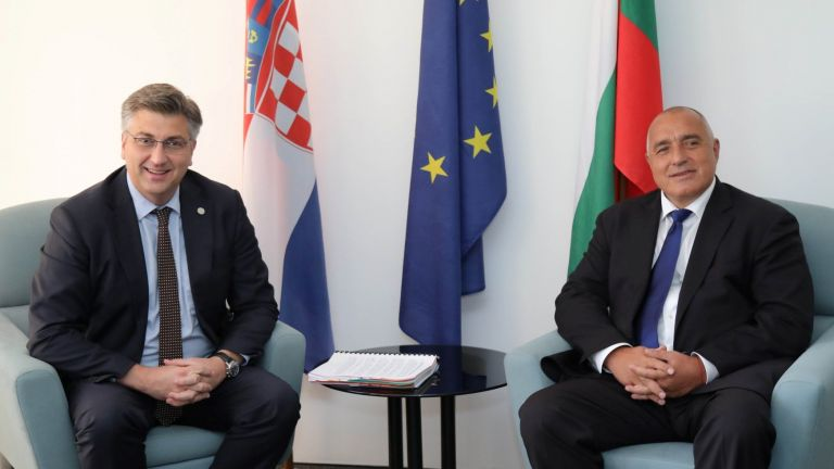 Бойко Борисов с Андрей Пленкович