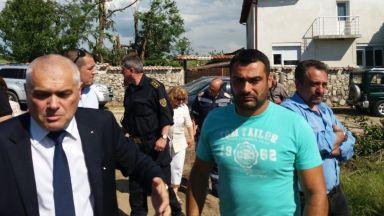 Валентин Радев: Ще помогнем за възстановяване на щетите в имотите на хората