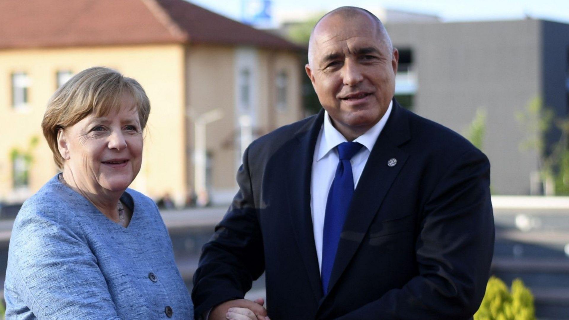 Ангела Меркел: България е ключова страна на Балканите