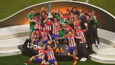"Безмилостен ""Атлетико"" изнесе лекция и превзе Лига Европа"