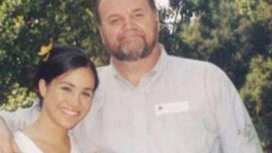 Бащата на Меган: Момиченцето ми изглежда много щастливо