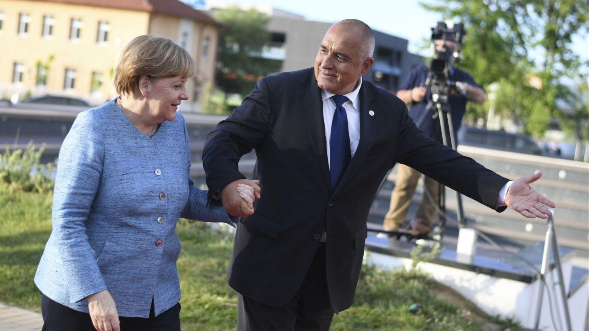София посрещна европейските лидери (снимки)