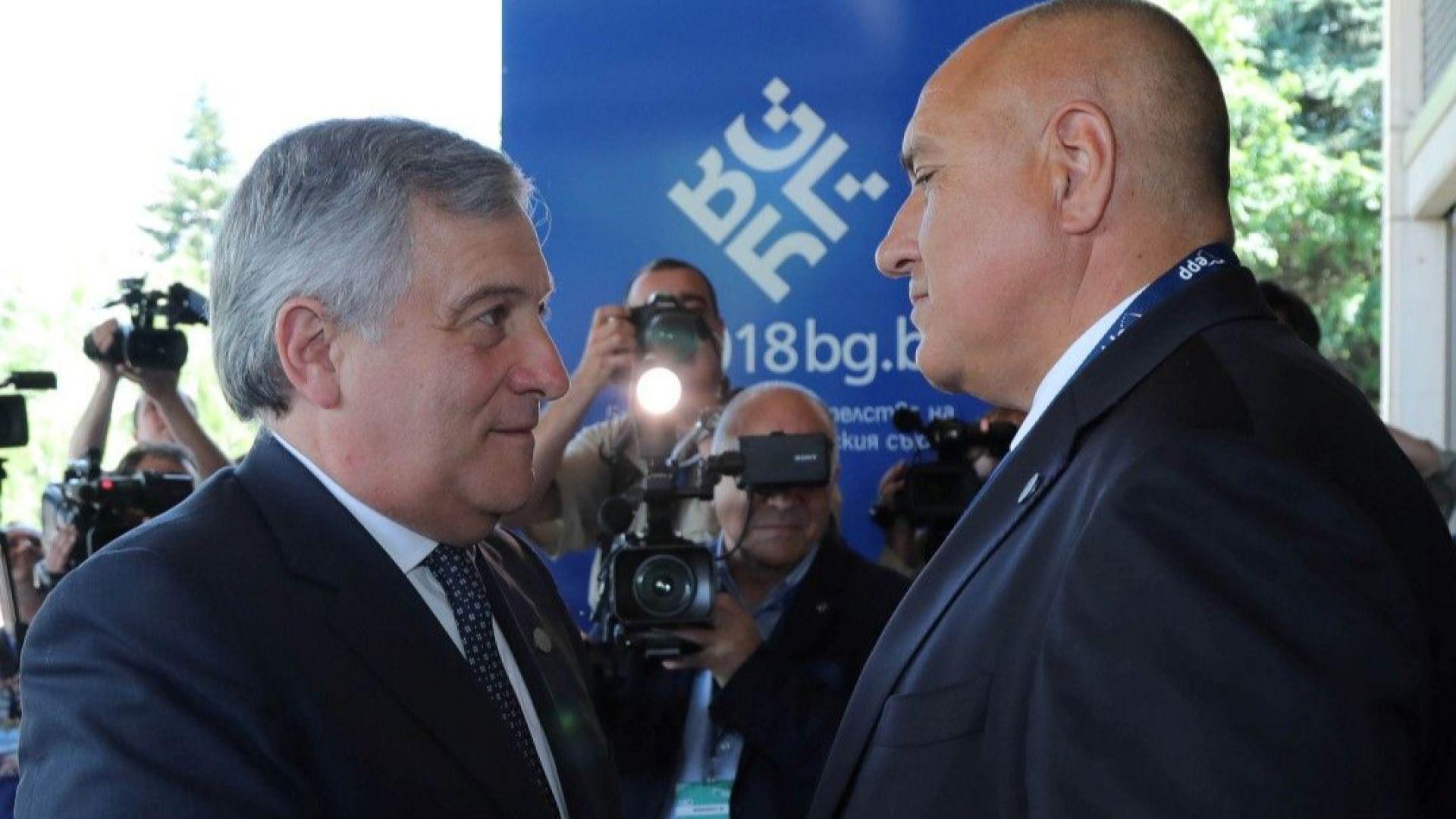 Антонио Таяни: ЕС да даде 10 млрд. евро за магистрали и жп на Балканите