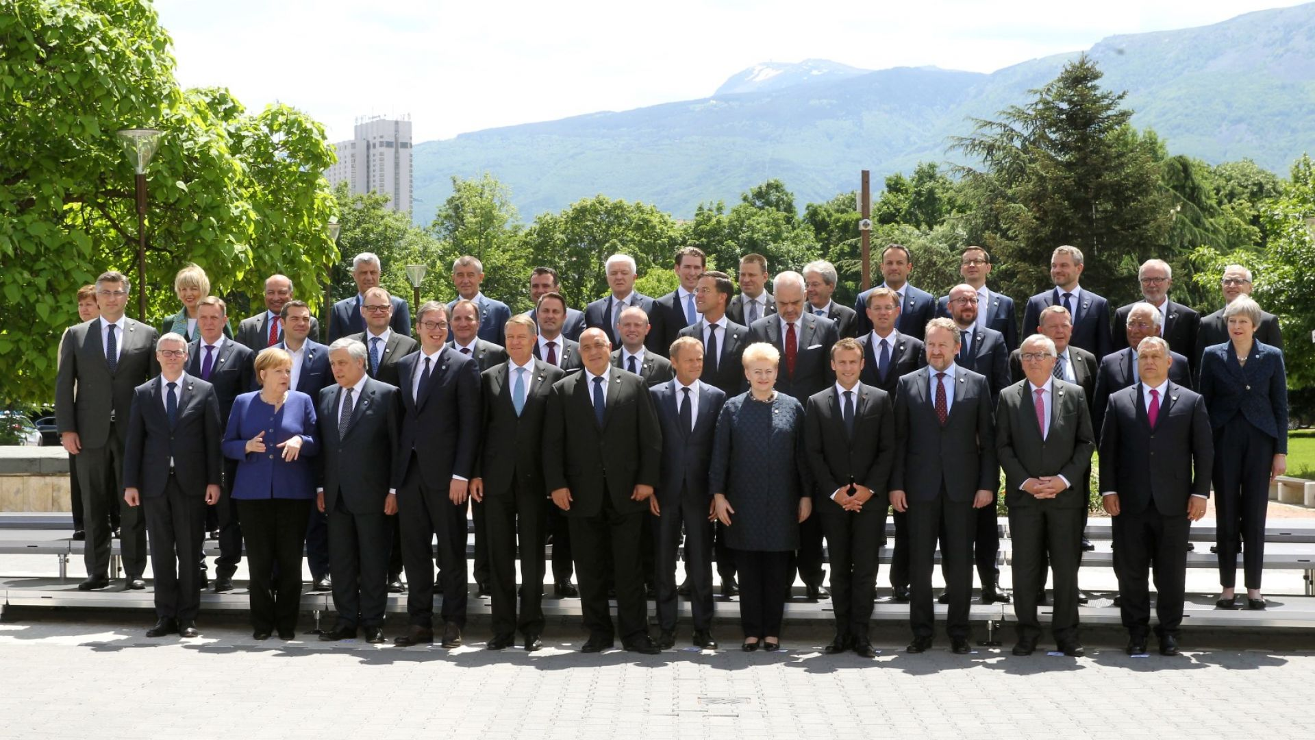 Лидерите на ЕС и Западните Балкани обединени с декларация