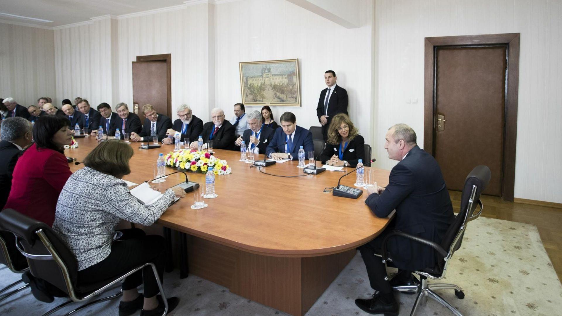 Румен Радев: Трябват ни общи цели на правителствата и бизнеса в Европа