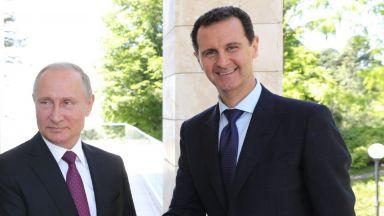 Путин към Асад: Стягайте държавата си
